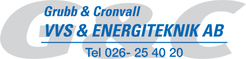 Grubb & Cronvall VVS & Energiteknik AB
